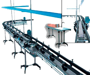Conveyors and conveyors systems